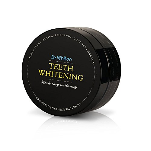 Dr.Whiten Organic Coconut Activated Charcoal Teeth Whitening Powder-Naturally Teeth Whitener Tooth Stain Remover (Dr.Whiten)
