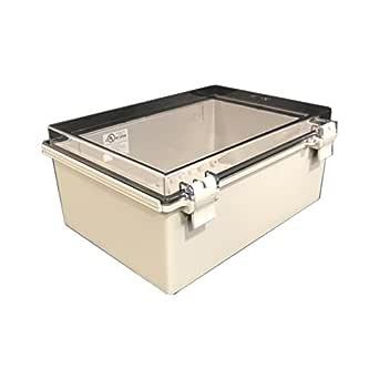 Electrical c3adcb BUD Industries NBF-32016 Plastic ABS NEMA Economy Box