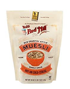 Bob's Red Mill Old Country Style Muesli Cereal, 18-ounce (Package May Vary)