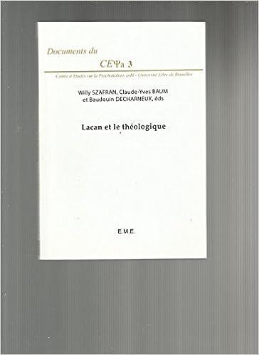 En ligne téléchargement Lacan et le Theologique. Fernelmont. epub, pdf