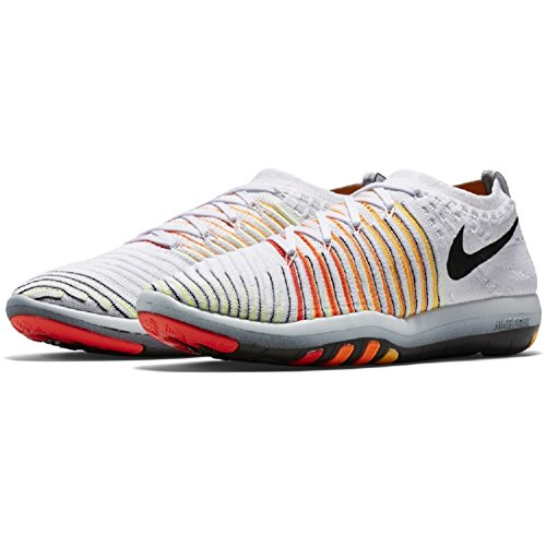 NIKE Women's Free Transform Flyknit Cross Training Shoes WHITE/BLACK-LASER ORANGE-TOTAL ORANGE latest collections cheap online cheap classic how much sale online clearance store clearance online official site 3L4wTL