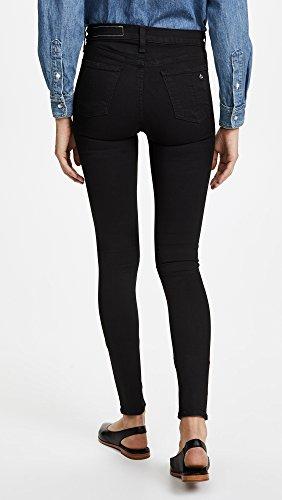Mujeres Flacos Vaqueros Rag Pulgadas Pantalones Nero And Bone Negro De 10 RfBxqHExw