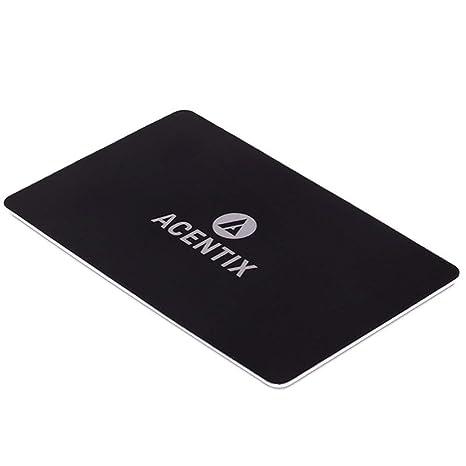 2 PACK ACENTIX ULTRA UK RFID Blocking Card Contact less UK Debit Card Protector