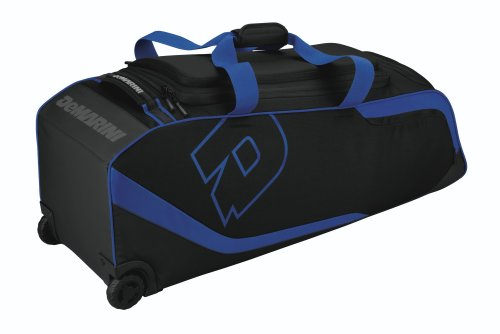 Demarini Equipment Bags (DeMarini ID2P Bag on Wheels, Royal Blue)
