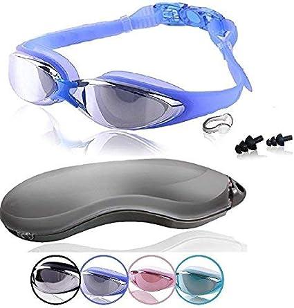 Mirrored Lens Swimming Goggles ROTERDON Swim Goggles Swim Glasses No Leaking Anti Fog UV Protection for Adult Men Women Youth Kid