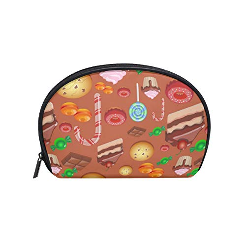 Halloween Cake Decorating Kit Waterproof Fabric Cosmetic Bag Portable Travel Cosmetic Storage Bag Cosmetic Storage Bag Zipper Bag -