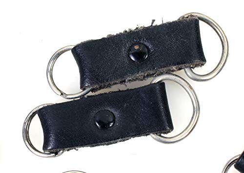 Camera Strap Lug Rings with Leather Protectors