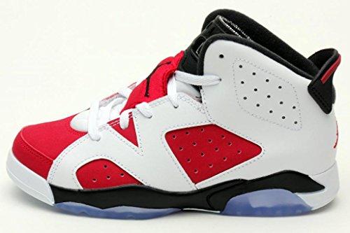 Jordan Preschool Retro 6 (Ps) WHITE/BLACK//CARMINE 684666-160 3 by Jordan