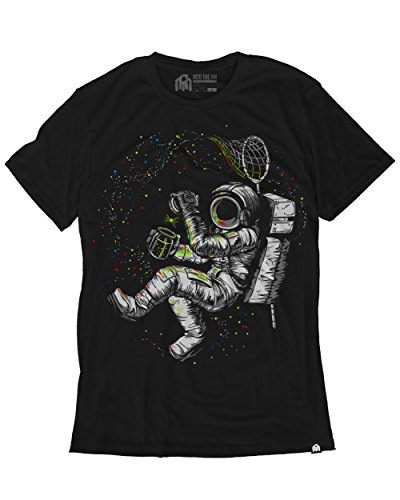 INTO THE AM Fireflies Men's Graphic Tee Shirt (Medium) -