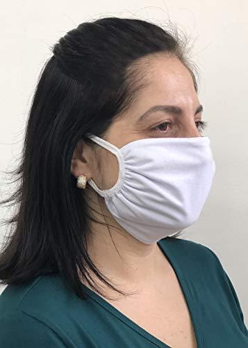 Kit 10 Mascaras De Tecido Duplo 100% Algodão Sortidos 002 Arsie Lingerie, Arsie, Colorido, Único
