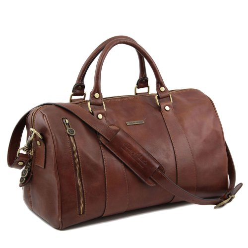 Tuscany Leather - sac de voyage en cuir - Marron