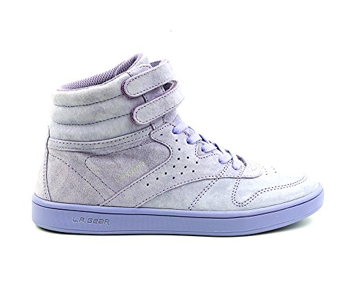 L.A. Gear Leder Sneaker Lily Hi Lilac Größe 37/UK 4