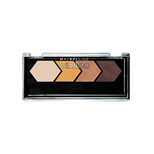 Maybelline New York Eye Studio Color Plush Silk Eyeshadow, Give Me Gold 05, 0.09 Ounce