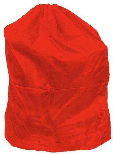Trademark Home Heavy Duty Jumbo Sized Nylon Laundry Bag, Red
