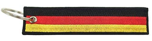 Germany Flag Key Chain, 100% (Flag Car Keychain)