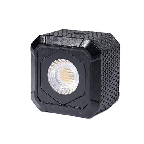 Lume Cube AIR Waterproof Compact LED Light for Photo, Video, GoPro, Smartphones + Metal Locking Foot & Cleaning Cloth Kit by LUME CUBE (Image #1)