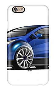 Defender Case For Iphone 6, Chevrolet Concept Blue Black Reflection Ultra Wtcc White Cars Other Pattern