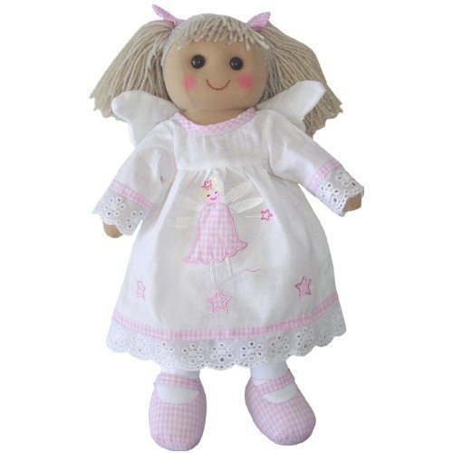 - Powell Craft Handmade Angel Rag doll- Makes a great stocking filler or christ...