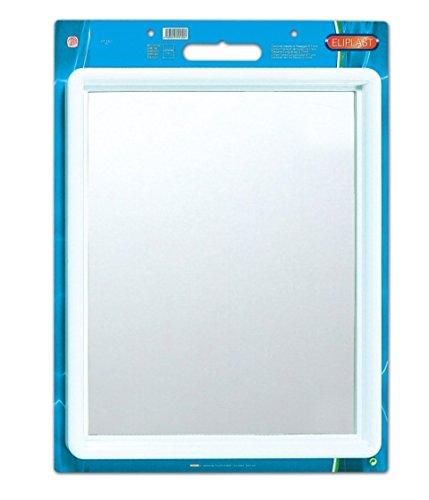 Eliplast Bathroom Mirror, White, 58 x 48 cm