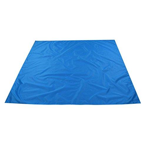 Picnic Duffle - Dingji 1.5mx1.4m Waterproof Outdoor Picnic Blanket Camping Moistureproof Mat(Blue)