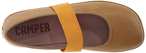 CAMPER Right Kids, Bailarinas para Niñas Amarillo - Gelb (Dark Yellow)