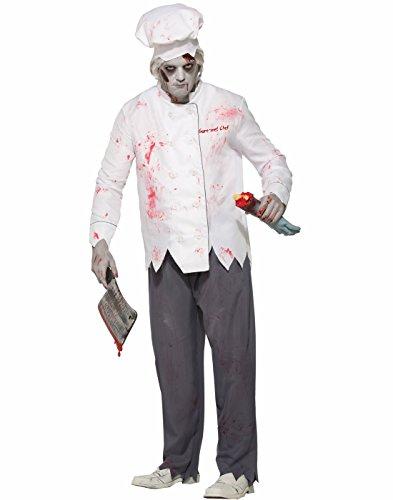 (Forum Men's Zombie Short Order Cook Adult Costume, as shown,)