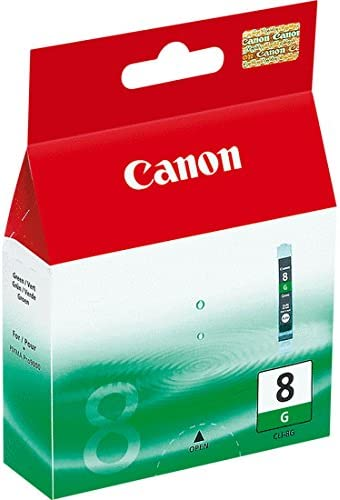 Printing Supplies New CANON OEM Inkjet Ink for PRO9000-1-CLI8G SD Green Ink