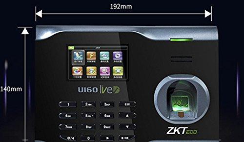 ZK U160 Fingerprint Time Attendance WIFI TCP/IP Fingerprint Time Clock