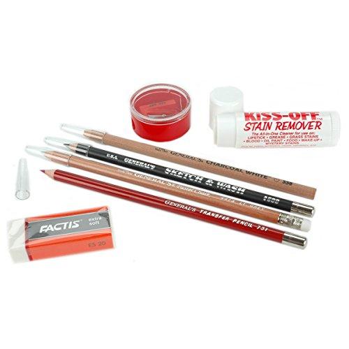General Pencil RZ03-02190200-R3U1 Fabric Pencil Survival Kit-