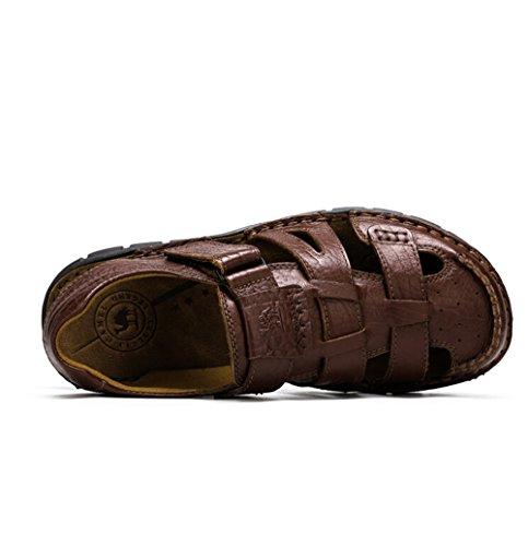 Camel Mens Altamont Closed Toe Fisherman Sandals Color Brown Size 41 M EU VtkugNIF