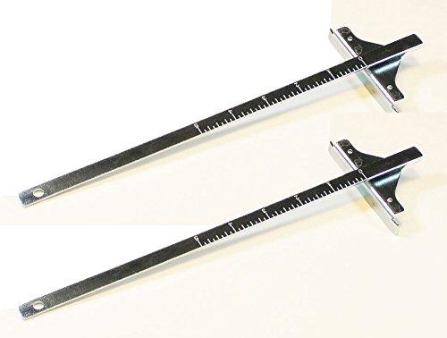 Dewalt DW936/DW939/DC390 Replacement (2 Pack) Cordless Rip Fence # 381091-00 by DEWALT by DEWALT