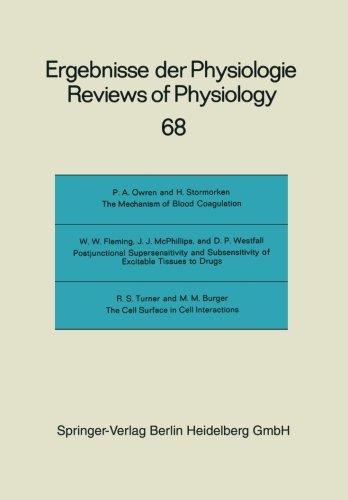 Reviews of Physiology, Biochemistry and Experimental Pharmacology (Ergebnisse der Physiologie, biologischen Chemie und experimentellen Pharmakologie)