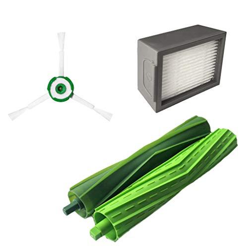 Price comparison product image MChoiceSide Brush&Hepa Filters&Bristle Brush for iRobot Roomba i7 i7+ / i7 Plus E5 E6 E7 White