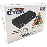Receptor Parabólica Century Midiabox B3 Digital HD