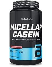 BioTechUSA Micellar Casein, Protein drink powder with Micellar Casein, sugar and sweetener, gluten-free, fat-free