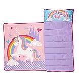 Funhouse Unicorn Nap Mat Set - Includes Pillow