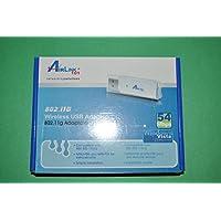 Airlink AWLL3028 Wireless-G Ultra Slim 802.11g USB 2.0 Adapter