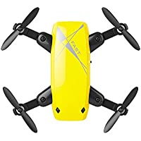 ShenStar S9 Mini Quadcopter Portable Drone Altitude Hold Headless Mode NO Camera (Yellow)