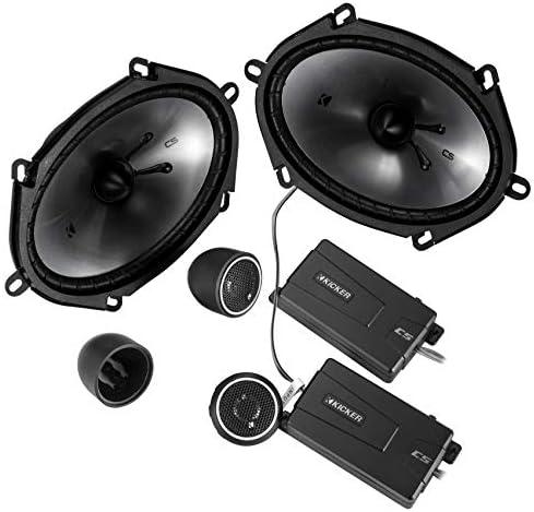 Kicker 46CSS684 Automotive Audio 6×8 Element Full Vary Stereo Audio system Set CSS68