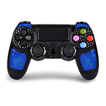 PS4 Controller Dual Shock 4 Wireless Controller– Joystick with Sixaxis, Bluetooth, Super Power, Micro USB, Multi-touch Clickable Touch Pad(Dipsey Diamond)