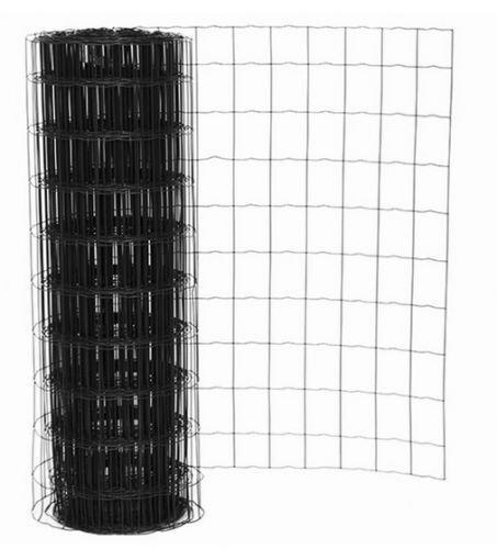 Rete metallica zincata Antracite Maglia metallica Recinzione giardino Lunghezza Lunghezza Lunghezza 25 m Altezza 120 cm Larghezza maglie 5 x10 cm 5062aa