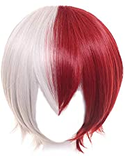 OSIAS Anime Cosplay Wig, Halloween Wig, with Free Wig Cap