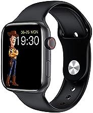 HW22 Plus Smart Watch, 1.75'' Touch Screen IP67 Waterproof Bluetooth 5.2, Wireless Charging & Long