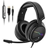 Jeecoo Stereo Gaming Headset for PS4, Xbox One...