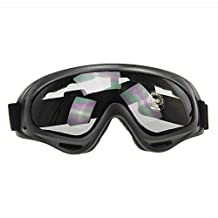 BXT UV400 Goggles Windproof Snow Ski Googles Motorcycle Snowmobile Snowboard Goggles Eyewear Cycling Biking Sports Protective Safety Glasses