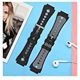 14 Pack Rubber Watch Band Strap Loops 18mm / 20mm