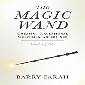 The Magic Wand: Creating Exceptional Customer Experience Audiobook