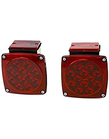 MaxxHaul 70460 12V LED Trailer Tail Light (Turn/Stop/Signal-Left/