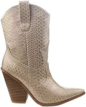 69046725118 Shopping $25 to $50 - Western - Beige - Boots - Shoes - Women ...