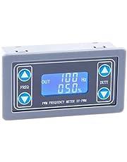KNACRO Adjustable Signal Generator, 1Hz-150KHz 1-Channel PWM Pulse Frequency DC 3.3V-30V 5-30mA LCD Display Module